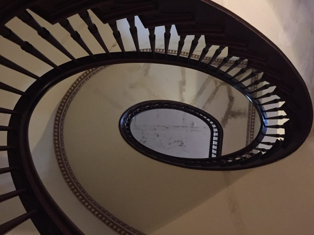 ward-hall-greek-revival-architecture-grand-staircase