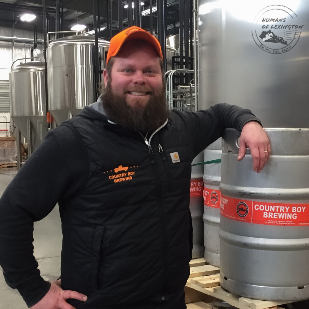 DH of Country Boy Brewing