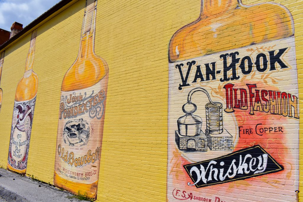 Cynthiana Distillery Mural in Kentucky