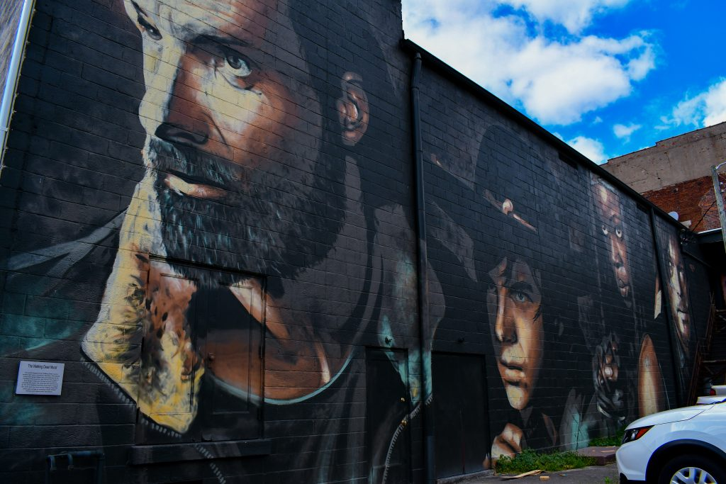 The World's Largest Walking Dead Mural