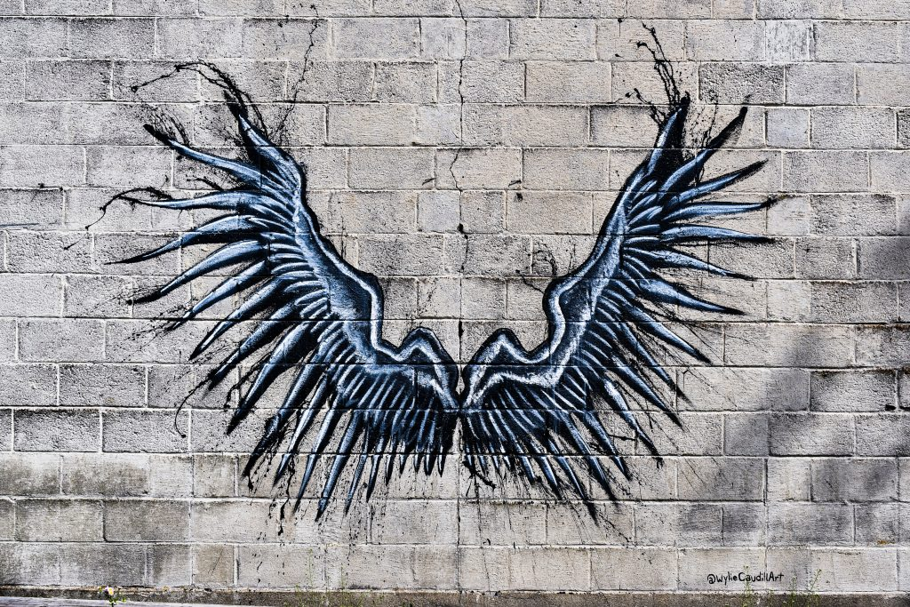 Gothic wings in Cynthiana Kentucky