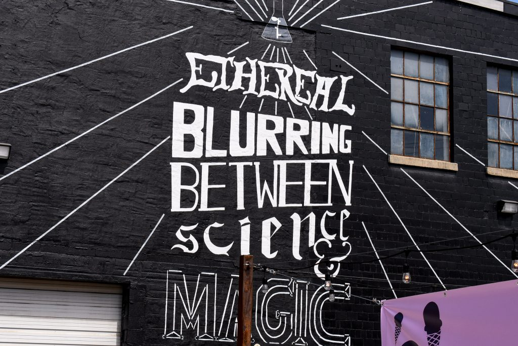 Ethereal Brewing Mural in the Distillery District