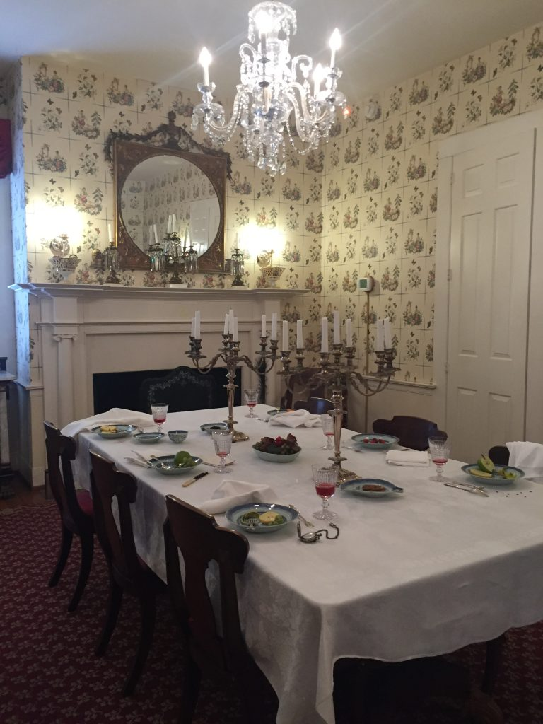 Mary Todd Lincoln House Dining Room