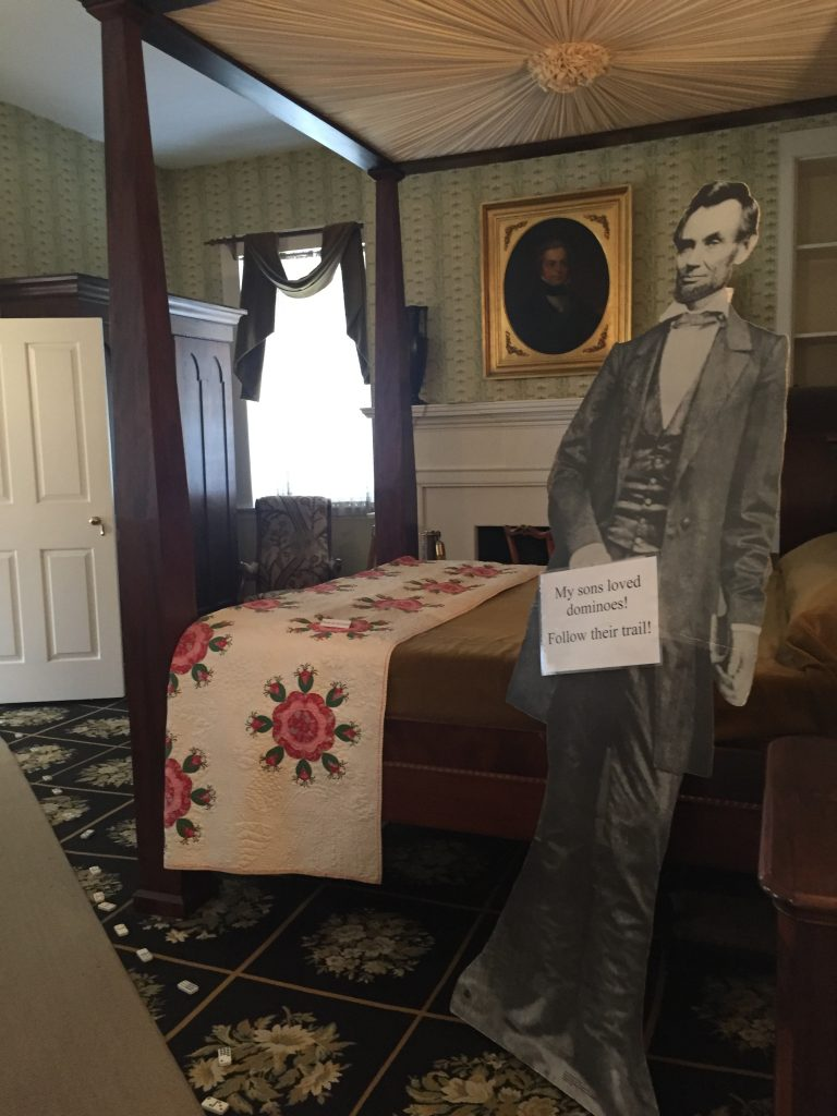 Mary Todd Lincoln House Bedroom