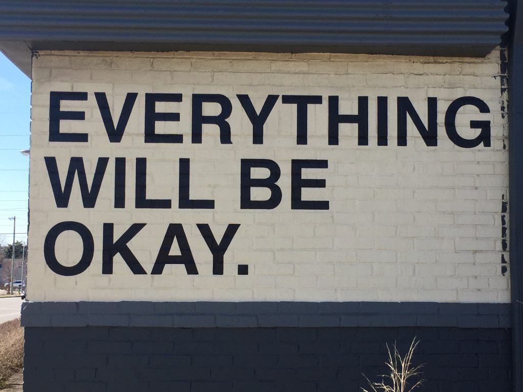 Everything Will Be Okay mural in Lexington