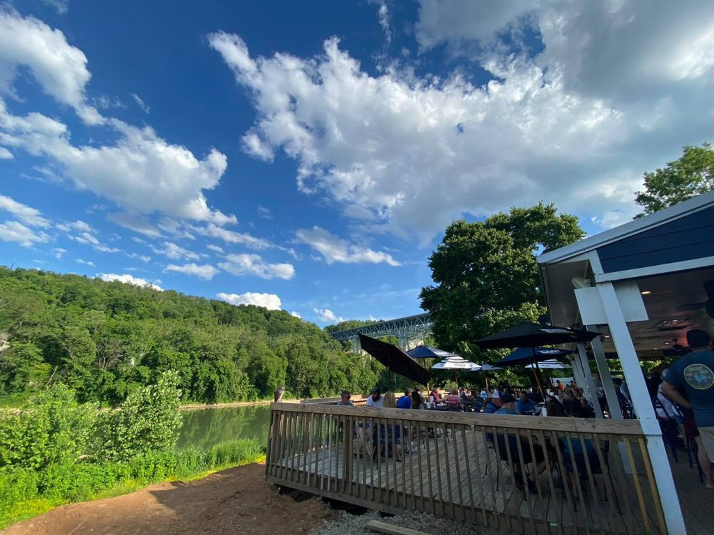 Tiki Bar at Proud Mary on the Kentucky River